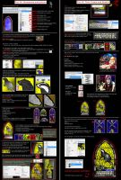 Stained glass window tutorial2 by guad