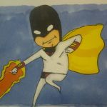 space ghost doodle by trentpower