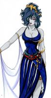 My Hecate version Lost Canvas by CDZ-Battle-s-Gods