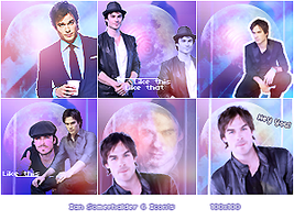 Ian Somerhalder Icon Pack by MeavaChan