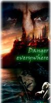 Severus Snape - Danger Everywhere by irenoginski