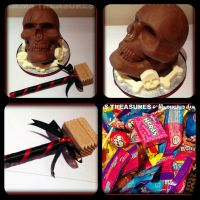 CHOCOLATE SKULL CANDY SMASH!!! by gertygetsgangster