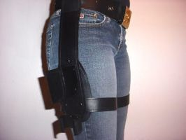 Tomb Raider Movie Belt Comission side view by pbbunnybear