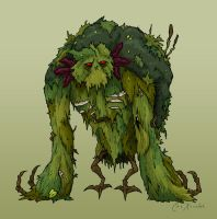 Halloween 13: Swamp Monster by Monster-Man-08
