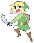 toon link toon link by WWII-in-color