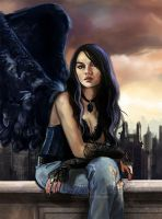 Urban Angel - detail by NicoleCadet
