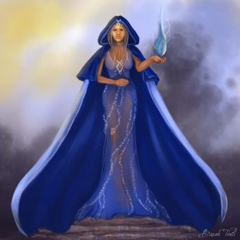 Marva Blue Prophet by BasakTinli