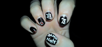 Death Note Nails by SabakuNoChie