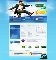 bakalland  business site by t3t5uo