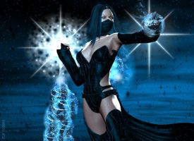 Daughter of Sub Zero Pic 1of3 by TheGeminiDream