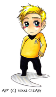 Chibi Captain by snickerdoots