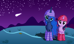 Cold Night Cozy Wallpaper by the-moep