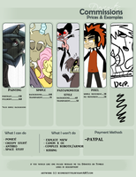 Commission Prices (closed) by Comickit
