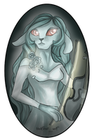 Neopets: Timelines the Ghost Zafara by Blesses
