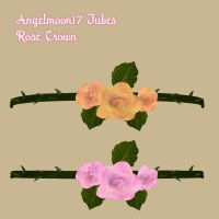 Angelmoon17 Tubes Rose Crown by AngelMoon17