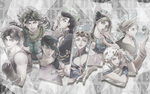 JJBA Wallpaper by kurooujosama