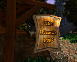 KV WIP45 TheWizardsPage Sign 2 by SilverCleric