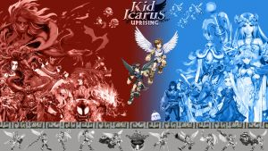 Kid Icarus: Uprising - Custom Wallpaper by Amilius-Sylar