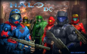 Halo Goes DC Comics by Rene-L