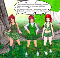 A Trio of Irish Lassies by quamp