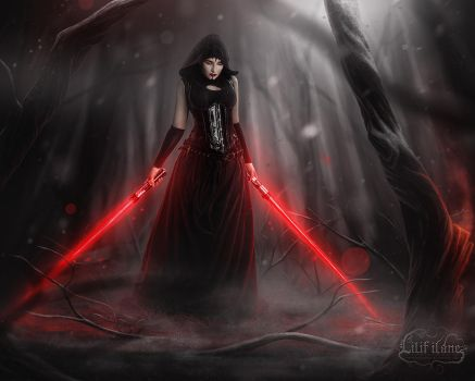 Welcome to the dark side by la-esmeralda