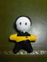 Lt. Commander Data Plushie 2 by Jessman5