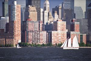 Sailing The Mighty Hudson by sullivan1985