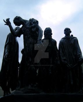 burghers_of_calais by miki-the-artist
