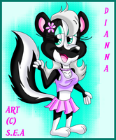 Dianna The Skunk by TheOriginalSkunky