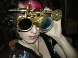 Steampunk Goggles by melsmith928