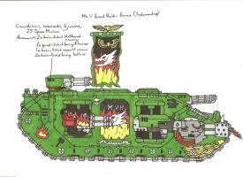 Mk V Land Raider Fornax by terraluna5