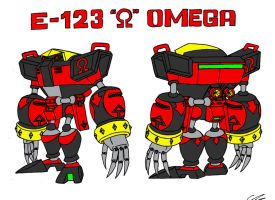 E-123 Omega by EUAN-THE-ECHIDHOG