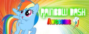 Rainbow Dash Banner by Shira-Noyoma