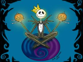 Jack Skellington. by Heithwen