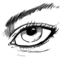 Eye Sketch by TheDoLittle