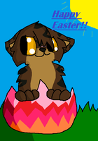Easter Tigerstar (art trade for starclan watches) by rustics
