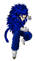 Vegetto SSJ 14 V5 by ansemporo002