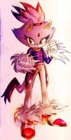 Blaze The Cat by alexhatsune