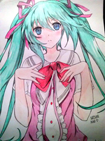 Beautiful Hatsune Miku by Elder-Link