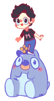 Mark and 505 by PixelJirachi