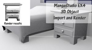MangaStudio EX 4 3D Object Drawers by DraconianRain
