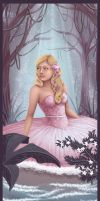 Waiting in the woods by madam-marla