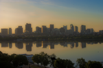 Charles River + Boston Skyline by dophineh