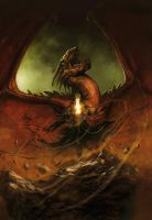 prince dragon, third book by MarcSimonetti
