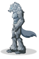 Leo the Lycan by MephilesAE