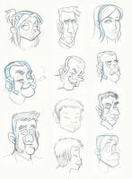 Different Face Styles by yooki42