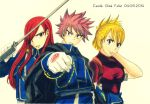 Fairy Tail x Fullmetal Alchemist Brotherhood by CobraxKinana