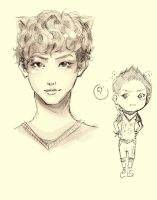 Park Chan Yeol by HosomiAme