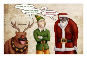 Dragon Age Christmas by mrbob0822