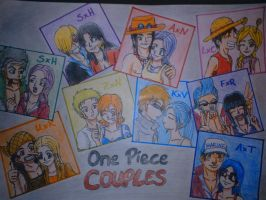One Piece Couples by Koza-Kun